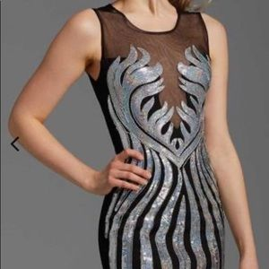 Clarisse 358 sleeveless dress